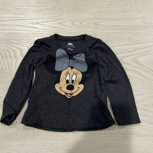 OLD NAVY MINNIE MOUSE LONG SLEEVE T 18-24 MONTHS